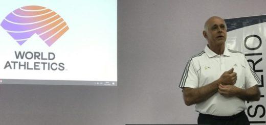 Jorge Pardo inició con las capacitaciones para los jueces de atletismo