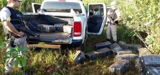 Prefectura secuestró más de 651 kilos de marihuana en Puerto Libertad