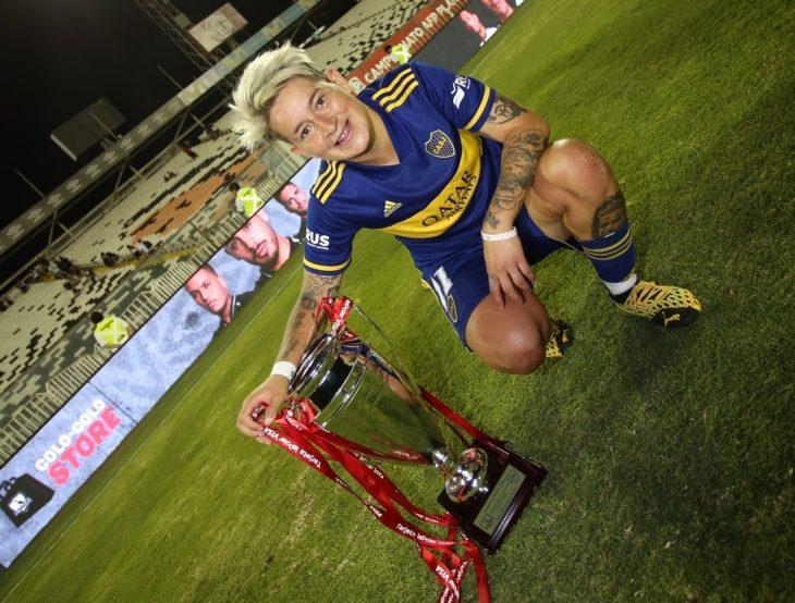 Fútbol Femenino: con la misionera Yamila Rodríguez, Boca venció a Colo Colo y se consagró campeón