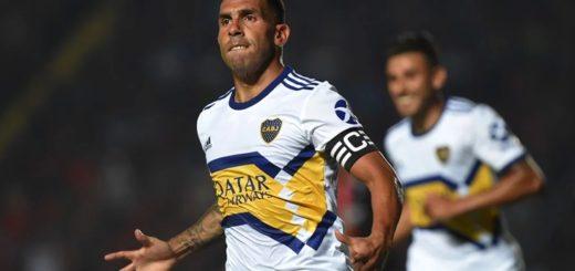 Boca goleó a Colón y arde la punta en la recta final de la Superliga