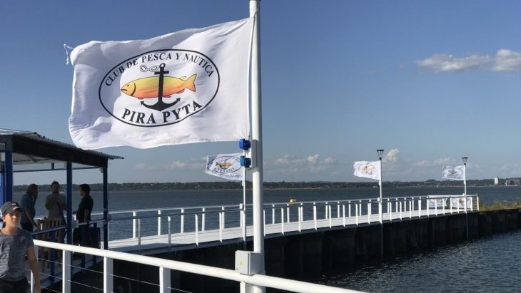 El club Pirá Pytá inauguró un muelle para los pescadores