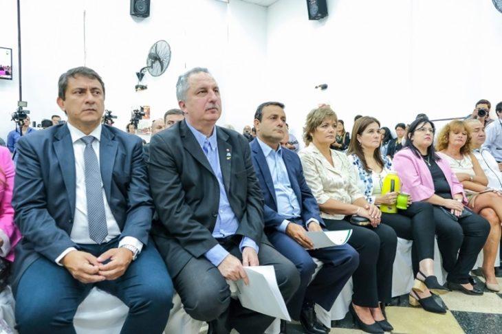 """Oscar Herrera Ahuad: """"El discurso de Stelatto marca una impronta social sin descuidar el crecimiento y el desarrollo de Posadas"""""""