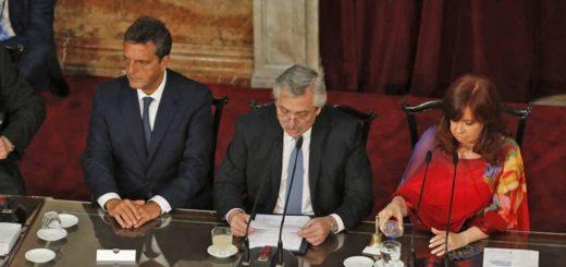 """Alberto Fernández: """"Presentaré en diez días un proyecto para legalizar el aborto"""""""
