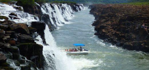 Moconá, saltos de agua únicos en el mundo y protegido por la Selva Misionera