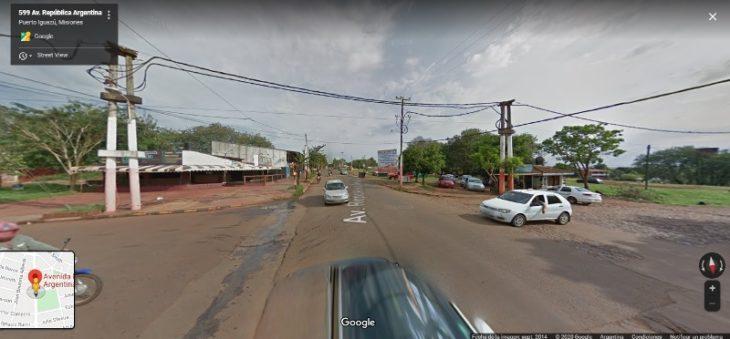 Accidente en Puerto Iguazú:  un motociclista  está grave tras un accidente con un auto