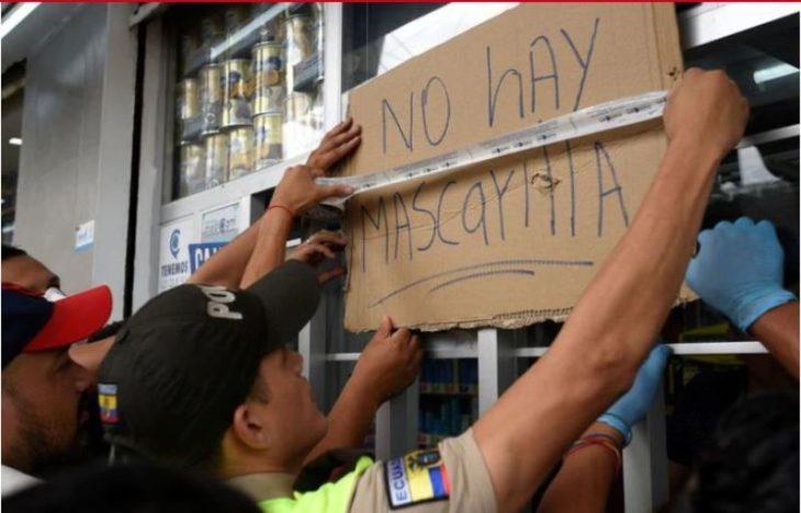 Ecuador confirmó cinco nuevos casos de coronavirus, uno se encuentra en estado crítico