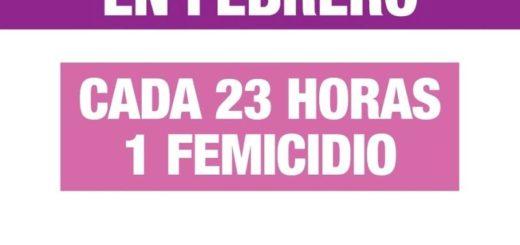 En lo que va del año 63 mujeres fueron asesinadas en la Argentina: 1 femicidio cada 23 horas
