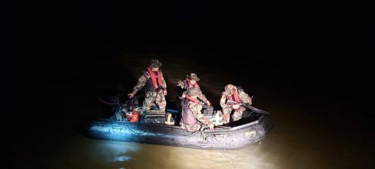 Persecución en el río: Prefectura secuestró un cargamento de marihuana en el medio del Paraná