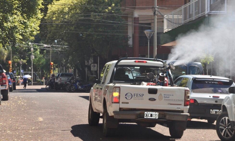 """Megaoperativo de lucha contra el dengue en Eldorado: """"La lucha contra el dengue es de todos y cada uno"""""""