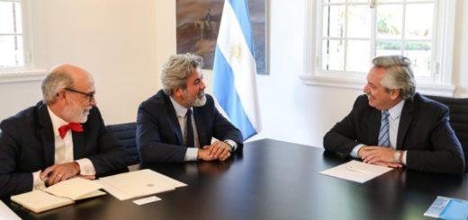 Alberto Fernández recibió a autoridades del Gobierno canadiense