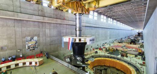Yacyretá: tras 25 años de funcionamiento reemplazan la turbina de la Unidad Generadora N°3