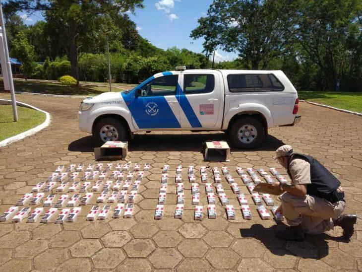 Prefectura secuestró un cargamento millonario de cigarrillos ...