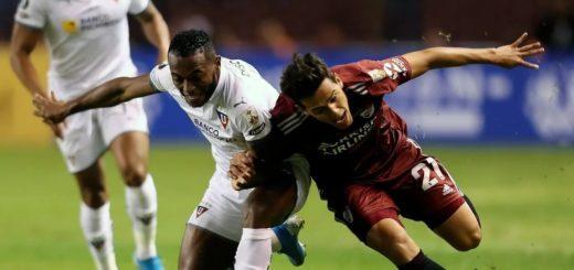 Liga de Quito complica a River en su debut copero: los goles y el minuto a minuto del partido
