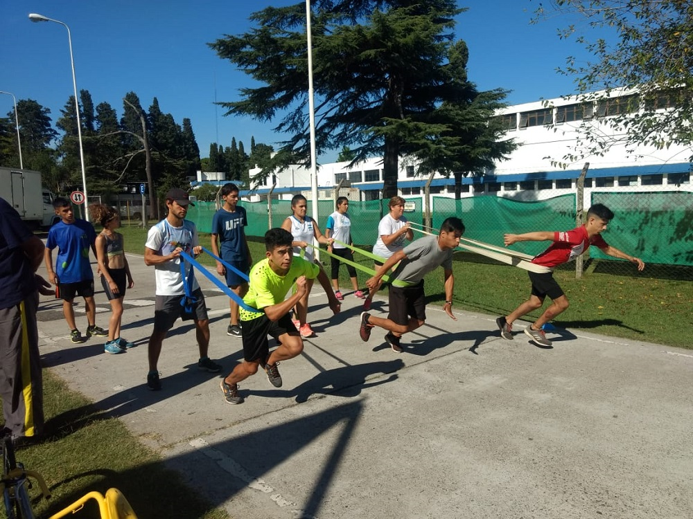 Atletismo adaptado: Bergallo, De Jesús y Espíndola participan en concentración Nacional