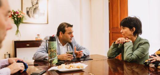 """Herrera Ahuad recibió a la titular de AFIP y le presentó los programas """"Ahora"""""""
