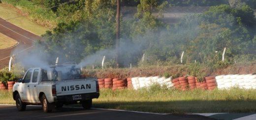 Operativo de prevención del dengue en el Autódromo de Posadas
