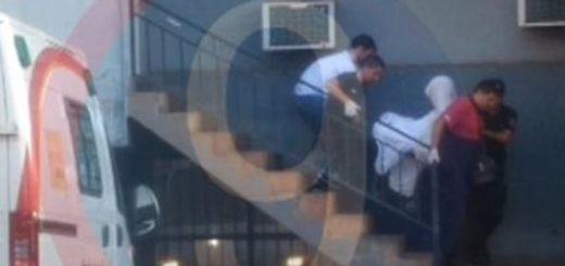 """Femicidio de Sonia Cerpa: llevaron al """"Cuerero"""" en silla de ruedas ante el Juez, pero no declaró"""
