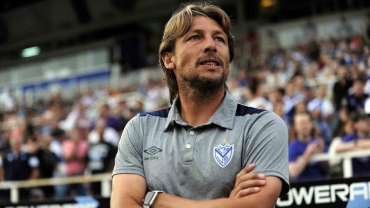 Gabriel Heinze anunció que dejará de ser el entrenador de Vélez