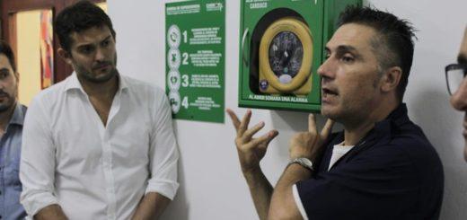 Instalaron un desfibrilador automático en el Concejo Deliberante de Posadas y capacitaron sobre su uso a todo el personal
