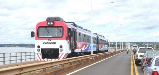 El tren que une Posadas con Encarnación volvería a funcionar los sábados