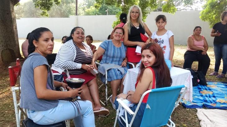 Previo al Día de la Mujer, desde la municipalidad de Posadas organizaron un día de capacitaciones y agasajo en el Club Legislativo