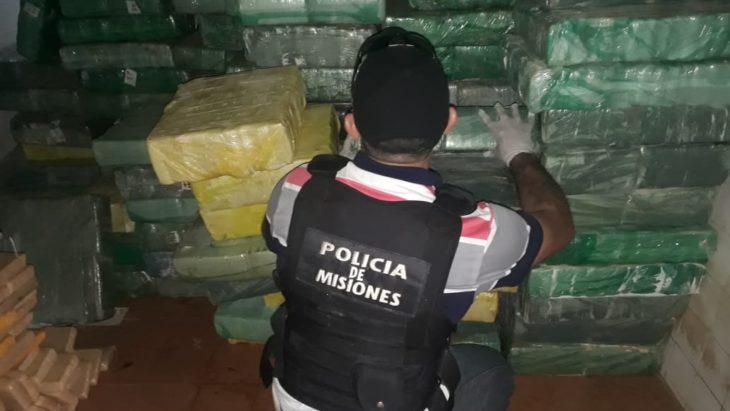 La Policía dio otro golpe al narcotráfico, esta vez en Santa Ana