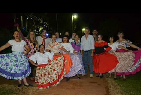 Así se vivió el 66° Aniversario de la localidad Hipólito Yrigoyen