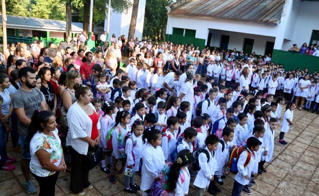 """Fabio Martínez en Eldorado: """"La educación es lo único que nos iguala en oportunidades"""""""