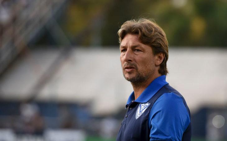 Vélez despide a Gabriel Heinze en su visita a Unión