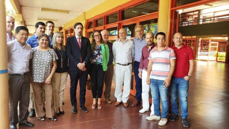 El ministro de Educación de la Nación está en Misiones y se reunió con autoridades de la UNaM