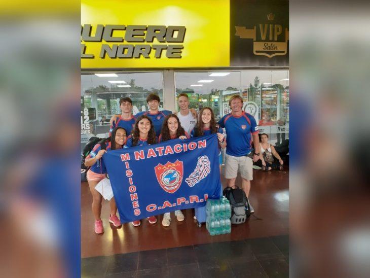 Nadadores del CAPRI viajan a Buenos Aires para disputar el Campeonato de la República Juvenil