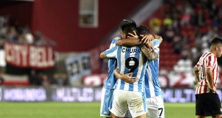 Racing se despidió de la Superliga con un triunfo de visitante contra Estudiantes