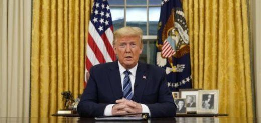 Coronavirus: Donald Trump anunció la suspensión de los viajes entre Estados Unidos y Europa por 30 días