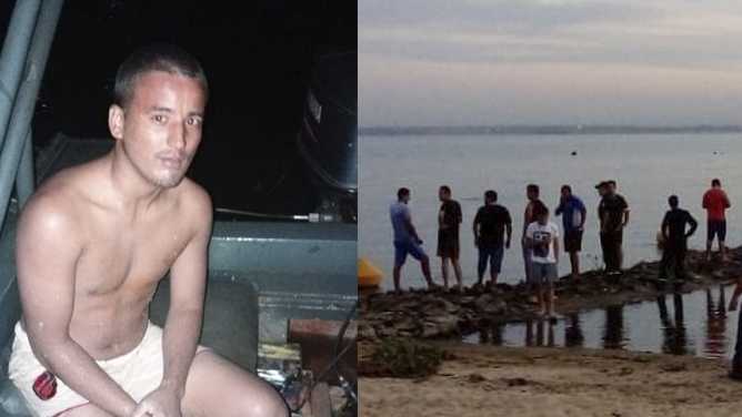 Intentaron llegar a nado hasta la Isla del Medio usando un telgopor como flotador y los salvó la Prefectura de Paraguay