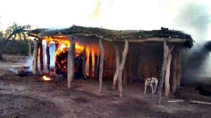 Trágico incendio en Corrientes: un abuelo murió calcinado dentro de su rancho