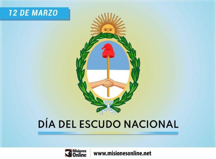 Hoy 12 demarzo, se celebra el Día del Escudo Nacional