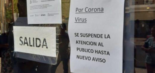 Trabajadores de ANSES Posadas no atenderán este viernes y posiblemente el lunes por el coronavirus