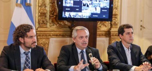 El Presidente encabeza reunión del comité interministerial por coronavirus con la participación de los gobernadores por videoconferencia