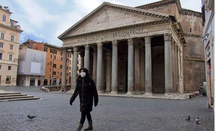 Coronavirus: en Italia murieron 250 personas en las últimas 24 horas y el total asciende a 1266