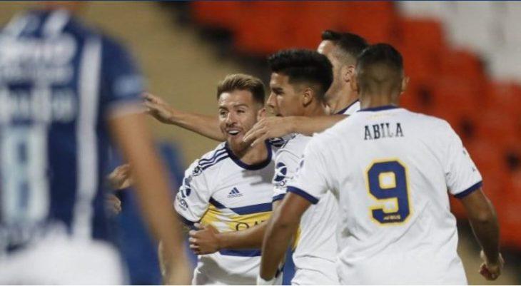 Boca goleó a Godoy Cruz en el estreno de la Copa de la Superliga