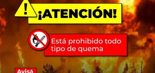 Misiones y Corrientes con alerta extrema por peligro de incendios forestales y rurales