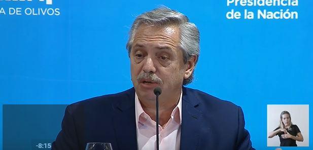 Alberto Fernández anunció el cierre de fronteras por 15 días y la suspensión de clases hasta el 31 de marzo para frenar el avance del coronavirus