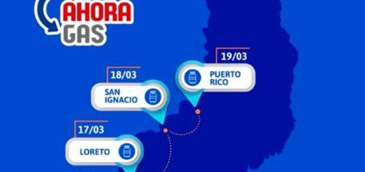 #AhoraGas: Safrán anunció el cronograma de esta semana y comienza hoy en Loreto