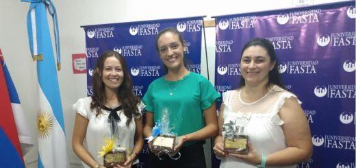Nuevas licenciadas en educación de la Universidad FASTA