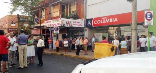 Emergencia Sanitaria: la sede de Posadas del Banco Columbia activó el protocolo de prevención Coronavirus