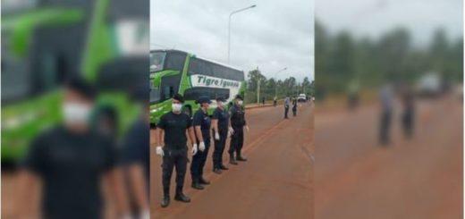 Coronavirus: por el cerrojo sanitario de Misiones, 10 pasajeros debieron volverse a Buenos Aires al llegar a la frontera provincial