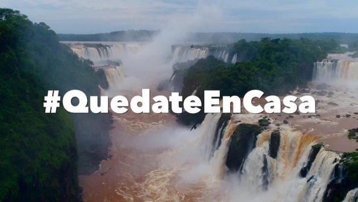 """""""Las Cataratas van a seguir estando ahí, reprogramá tu viaje"""": el mensaje del Gobernador de Misiones que invita a sumarse al #YoMeQuedoEnCasa"""