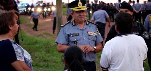"""Victor Zenon Cabrera, jefe de la policía: """"La gente está acatando la idea de la campaña de concientización"""""""