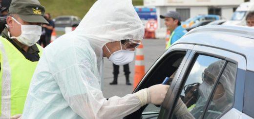 Irresponsabilidad social: en vez de cumplir con la cuarentena, un conductor viajaba a la Costa Atlántica con 38° de fiebre