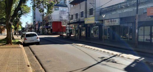 Posadas: las calles permanecen vacías en el segundo día de cuarentena obligatoria